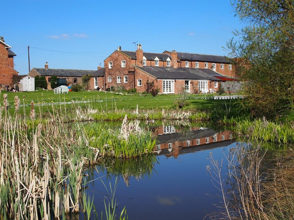 thistledown House, view from pond