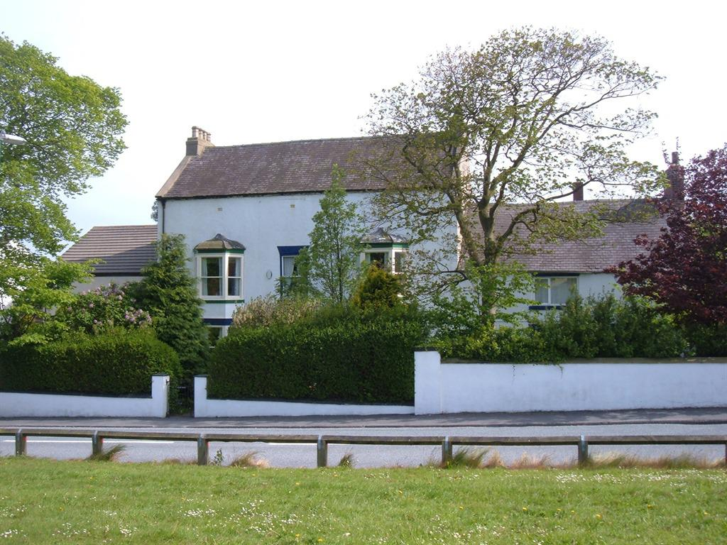 The Manor House from the village green