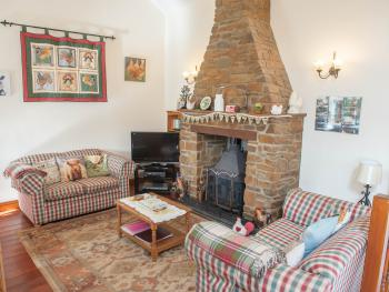 Frankaborough Farm Holiday Cottages - Frankaborough cottage lounge