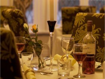 Intimate evening dining