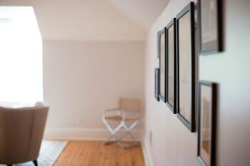 "Hallway to ""The Nest"" - hospitality area"
