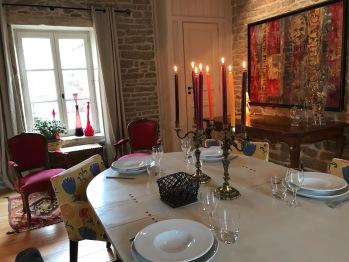 Salle de déjeuner et de diner
