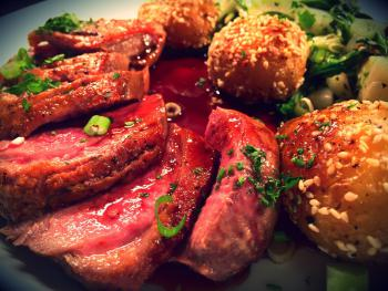 Pan-fried Duck Breast