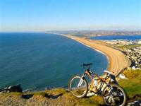 Cycling in and around Weymouth, Dorset