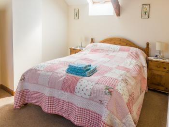 Bedroom in the Old Dairy