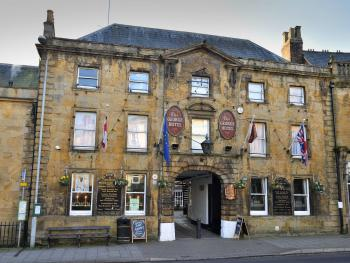 The George Hotel - Crewkerne - Front of Building