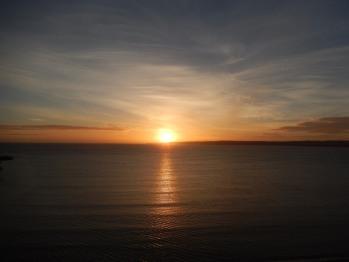 Sunrise over Flamborough and Bempton Cliffs