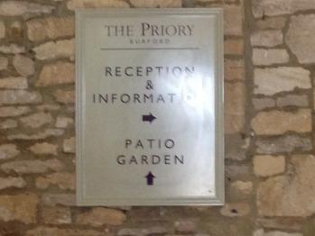 Priory Signage