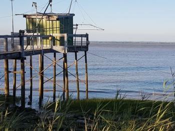 Promenade au bord de l'Estuaire de la Gironde