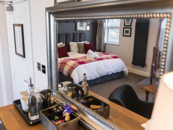 The Sea View Penhouse Suite, our largest and newest room