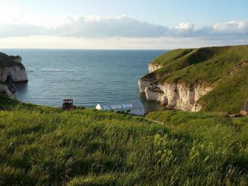 nearby Flamborough Head coast