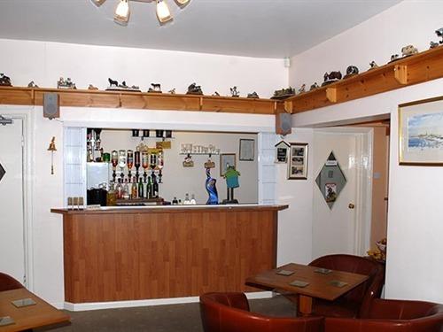 Modern stylish bar area
