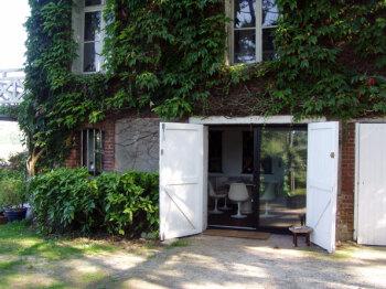 Le gîte Jardin : entrée