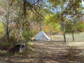 Tente-Salle d'eau-Tente 19 m²