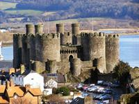 THE CASTLES OF HARLECH, BEAUMARIS & CONWY
