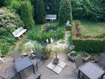 Terrasse / Garten / Teich