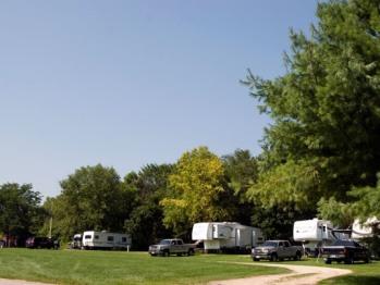 Campsite #8-RV Campsite #8
