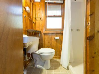 #2 Butternut Cottage bathroom with shower