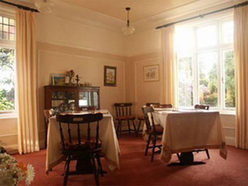 Breakfast Room at Gwyndra House