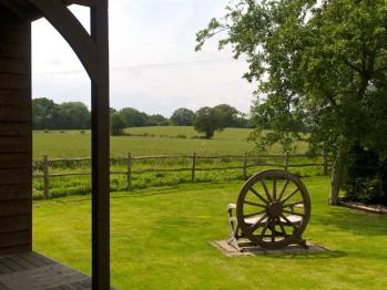 Back garden view.