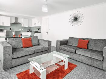 Fabrik Apartments - Harrowside - Lounge