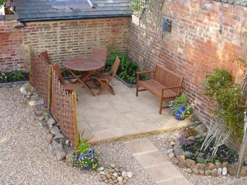 Guests Patio Area