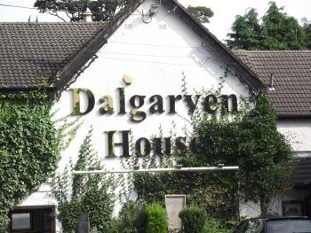 Dalgarven House Hotel - Front of our hotel
