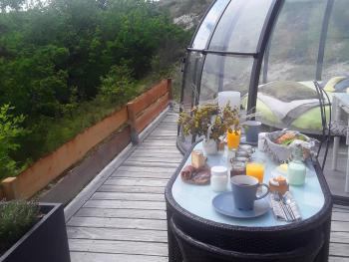 le dôme confort - petit déjeuner