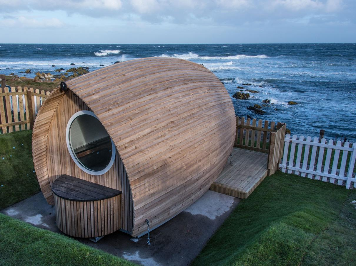 Luxury Eco Pod on Seafront