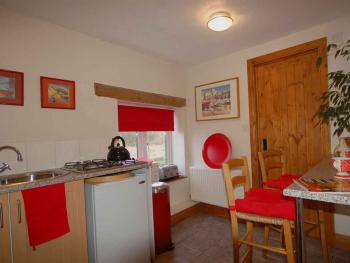 Kitchen with Double room