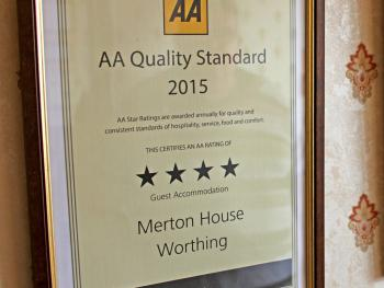 AA 4 star rating 2013 - 2017