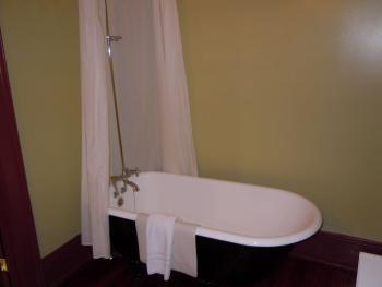 Claw Foot Tub With Shower