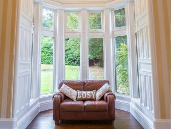 All windows are double glazed, ensuring a cosy atmosphere