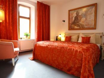 Doppelzimmer-Exklusiv-Ensuite Dusche-Gartenblick-Schloss 206
