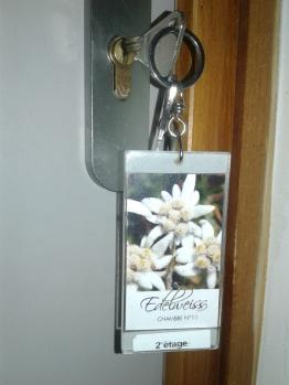 clé de chambre