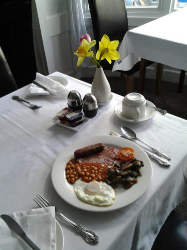 Enjoy our cooked breakfast