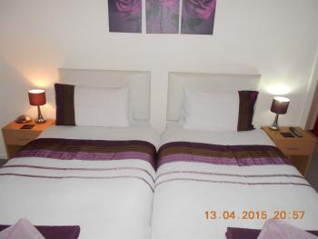Twin room-Standard-Shared Bathroom-Room 4