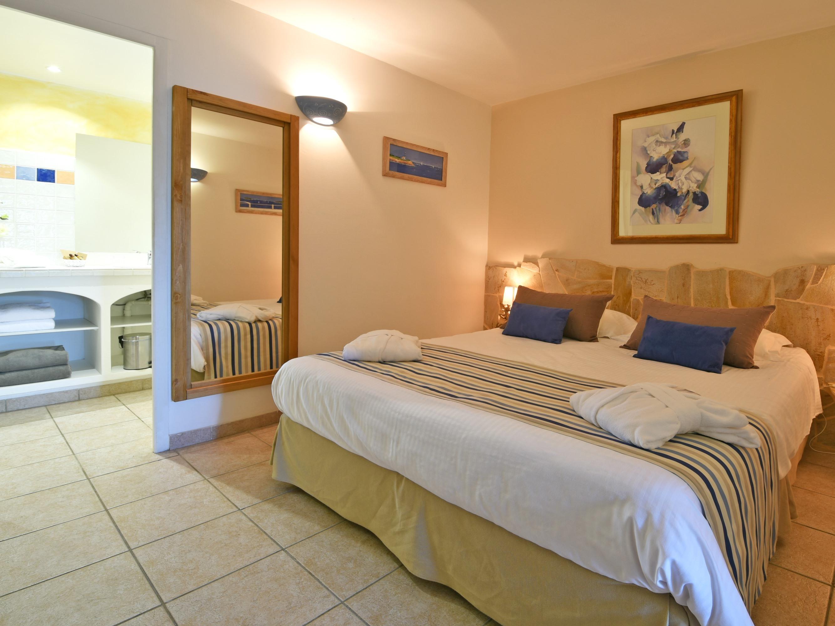 Appartement-Salle de bain privée séparée-Vue mer-5 - Tarif de base
