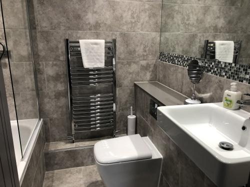 Deluxe Familty Room Bath & Shower Room
