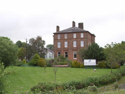 Kirkconnel Hall Hotel From Its Grounds