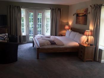 Our new Oak Suite offers stunning views across the valley