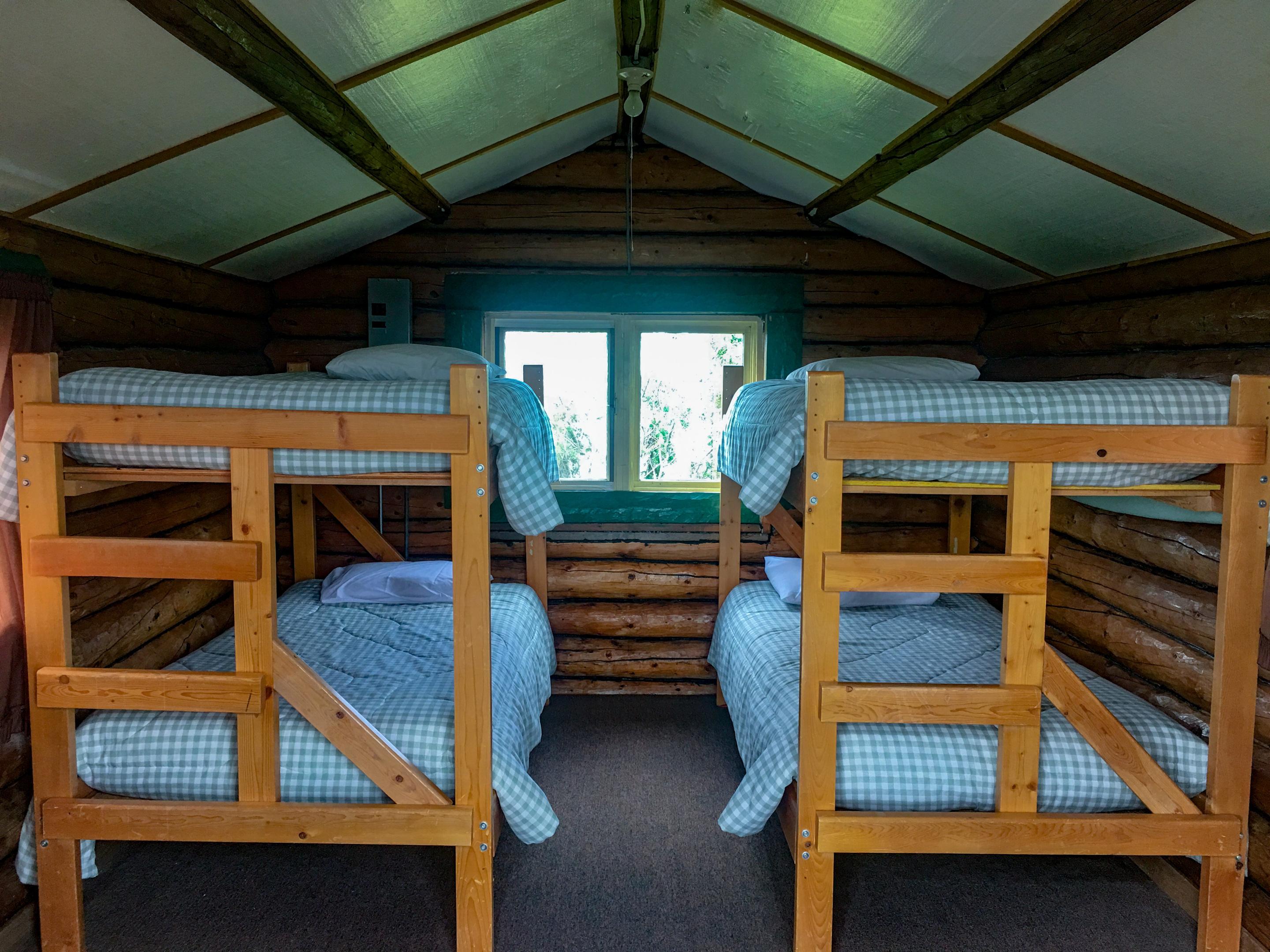 Cabin-Shared Bathroom-Lake View-Bathroom in Main lodge - Base Rate