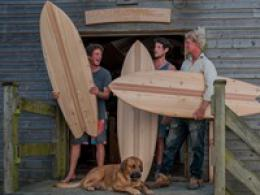 Build your own wooden surfboard Lignum Surfboards 0.1 miles