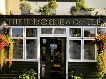 The Horseshoe and Castle - Front Door