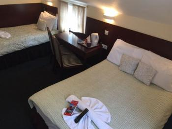 Triple room-Shared Bathroom-Double and Single Bed