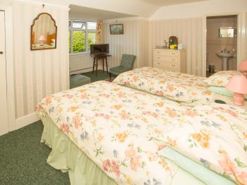 Twin room-Superior-Ensuite with Bath-Countryside view