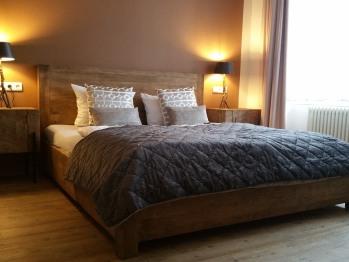 Doppelzimmer-Standard-Ensuite Bad-Stadtblick
