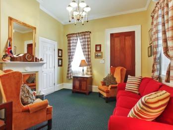 Hail Britannia Suite sitting room