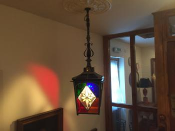 A Stain Glass Light awaits you on the First Floor (Room 10 - 15)