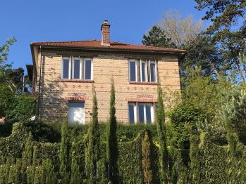 Villa Vert Bois : façade côté mer.